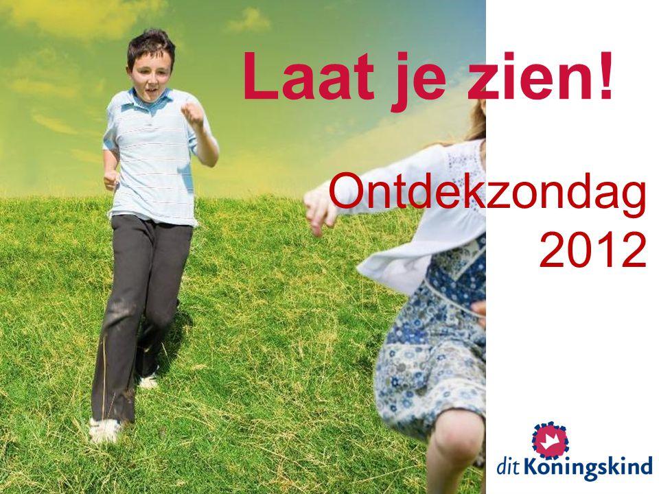 Ontdekzondag 2012 Laat je zien!