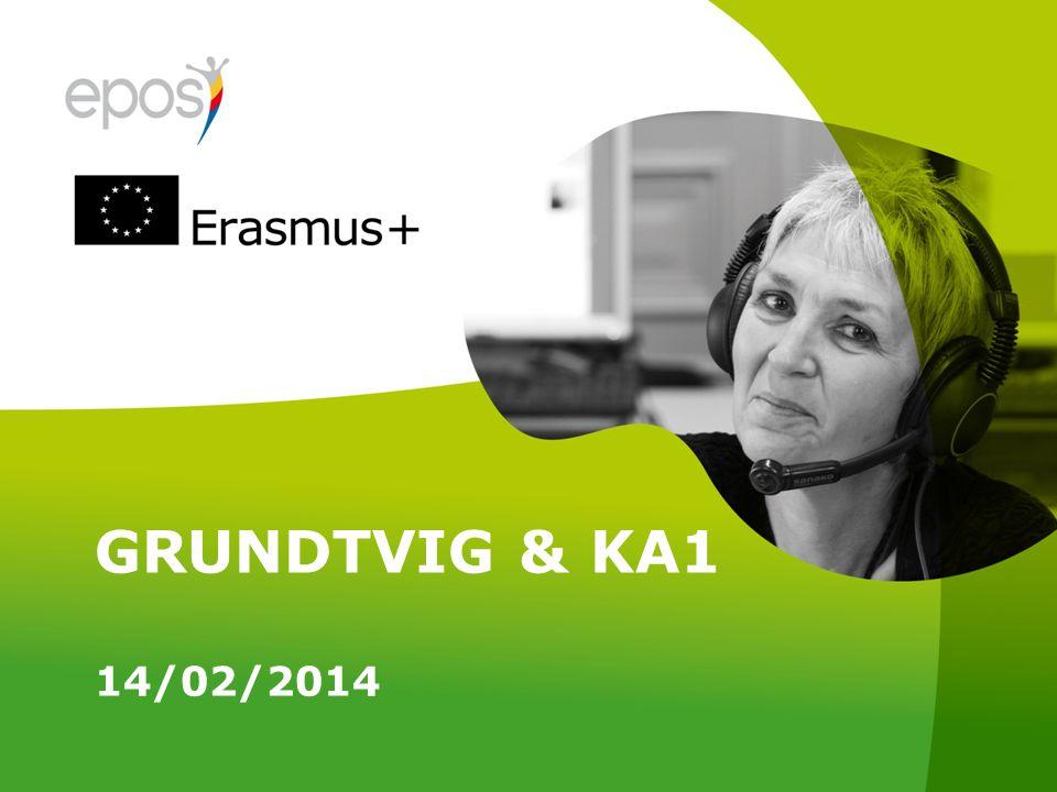 GRUNDTVIG & KA1 14/02/2014