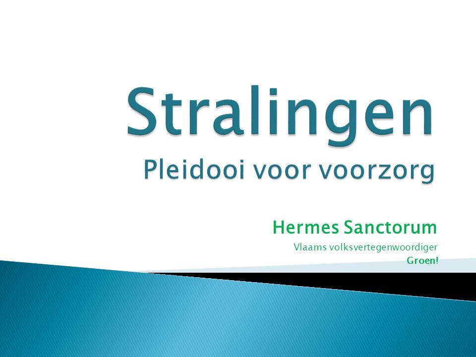 Hermes Sanctorum Vlaams volksvertegenwoordiger Groen!