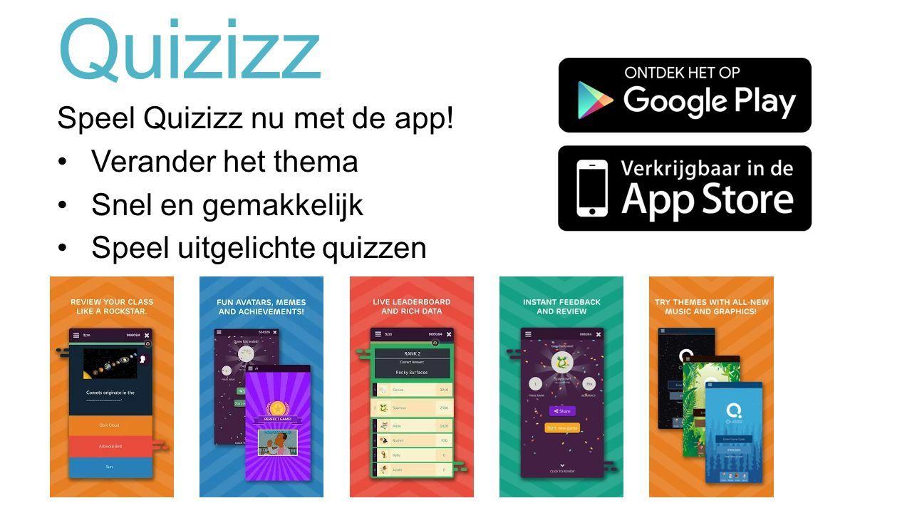 Quizizz Speel Quizizz nu met de app.