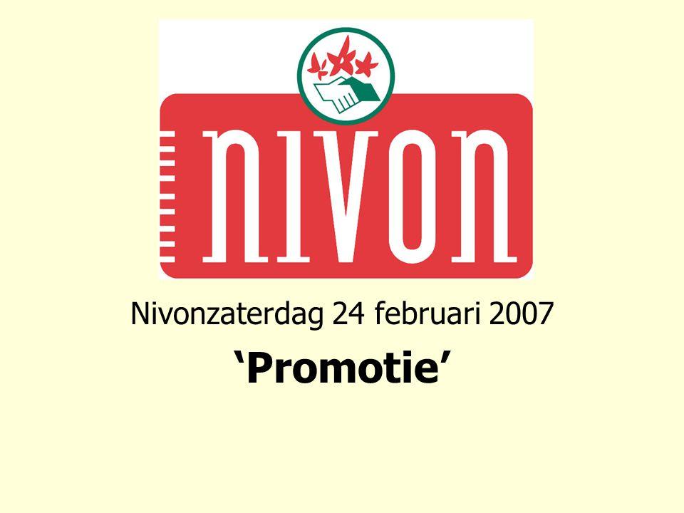 Nivon ledenonderzoek tussenstand Welk beeld hebben mensen bij het Nivon.