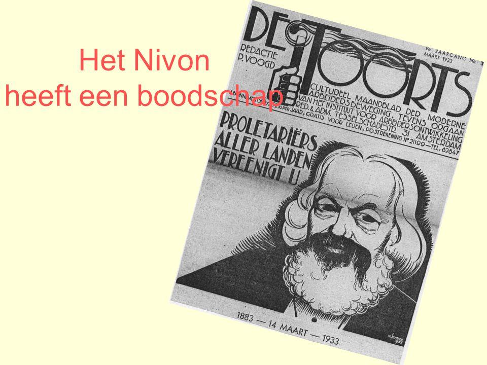 Het Nivon heeft een boodschap