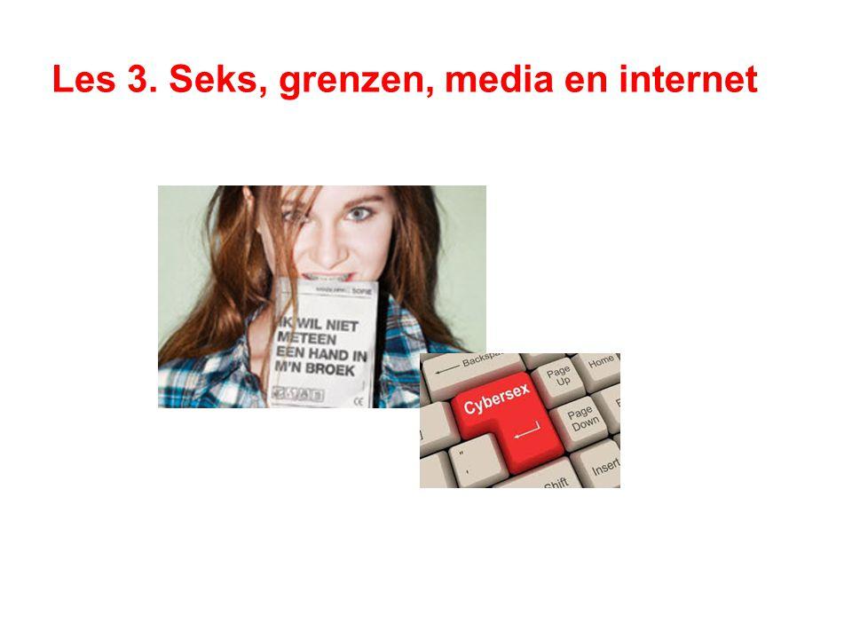Les 3. Seks, grenzen, media en internet