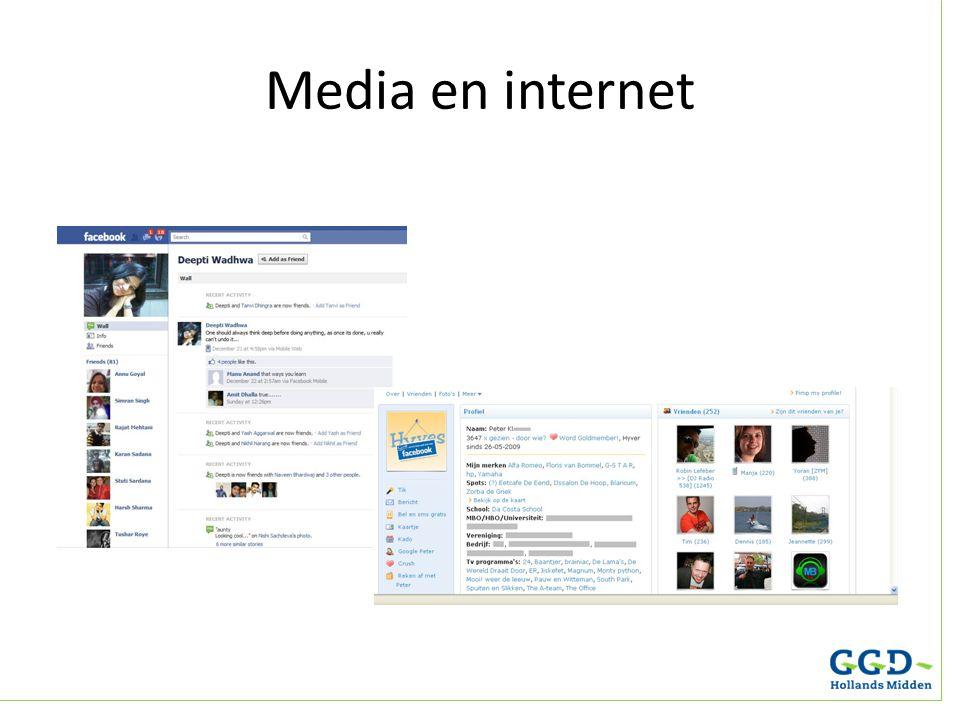 Media en internet