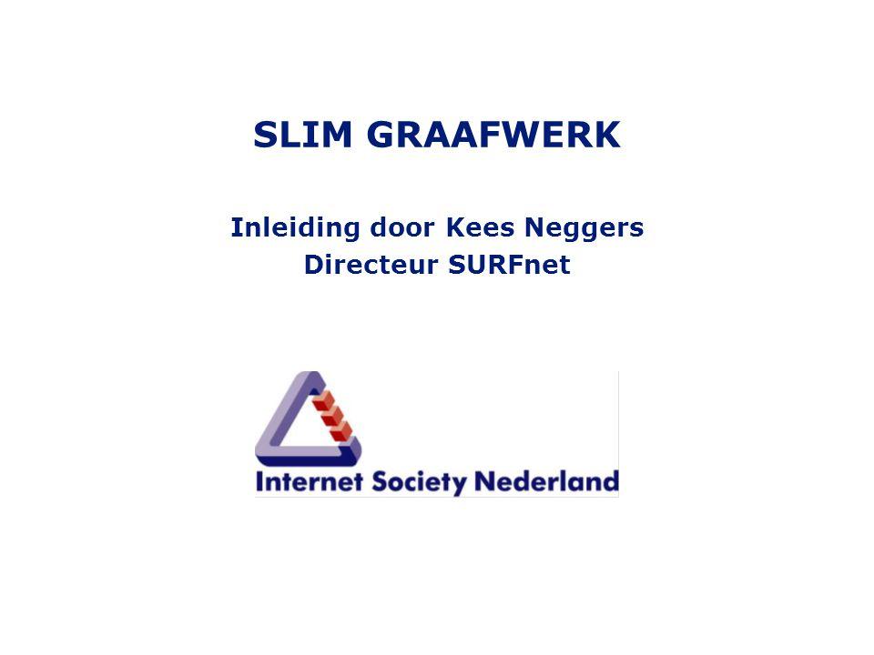 SLIM GRAAFWERK Inleiding door Kees Neggers Directeur SURFnet