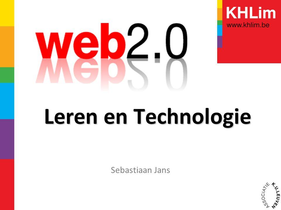 Leren en Technologie Sebastiaan Jans