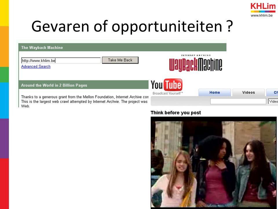 Gevaren of opportuniteiten