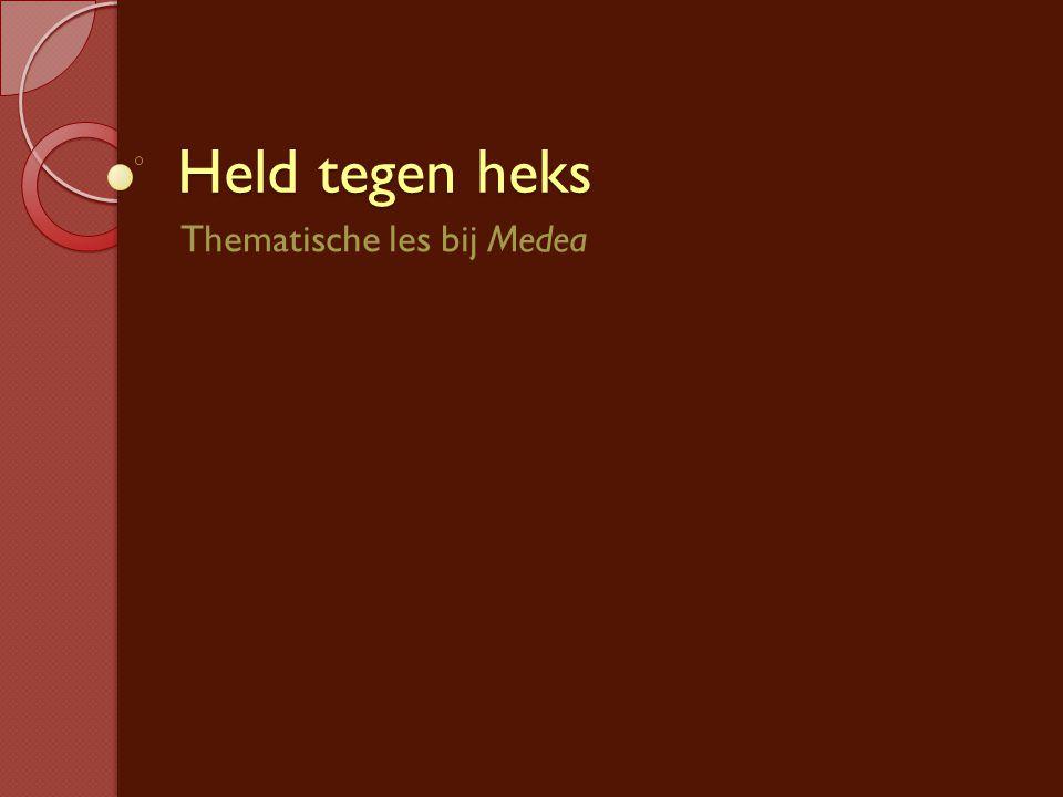 Thematische les bij Medea