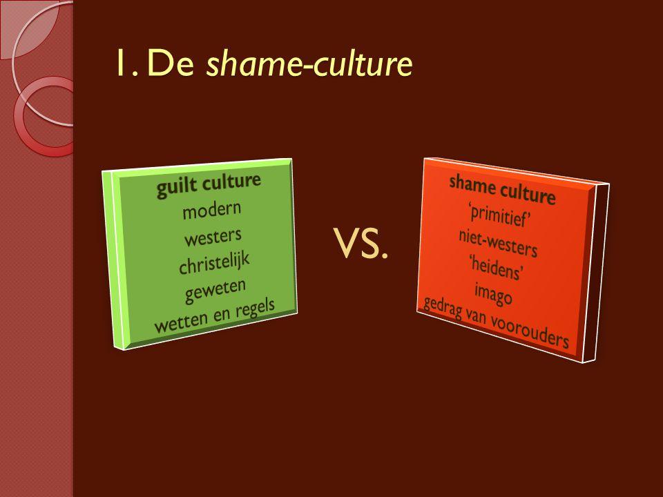 1. De shame-culture VS.