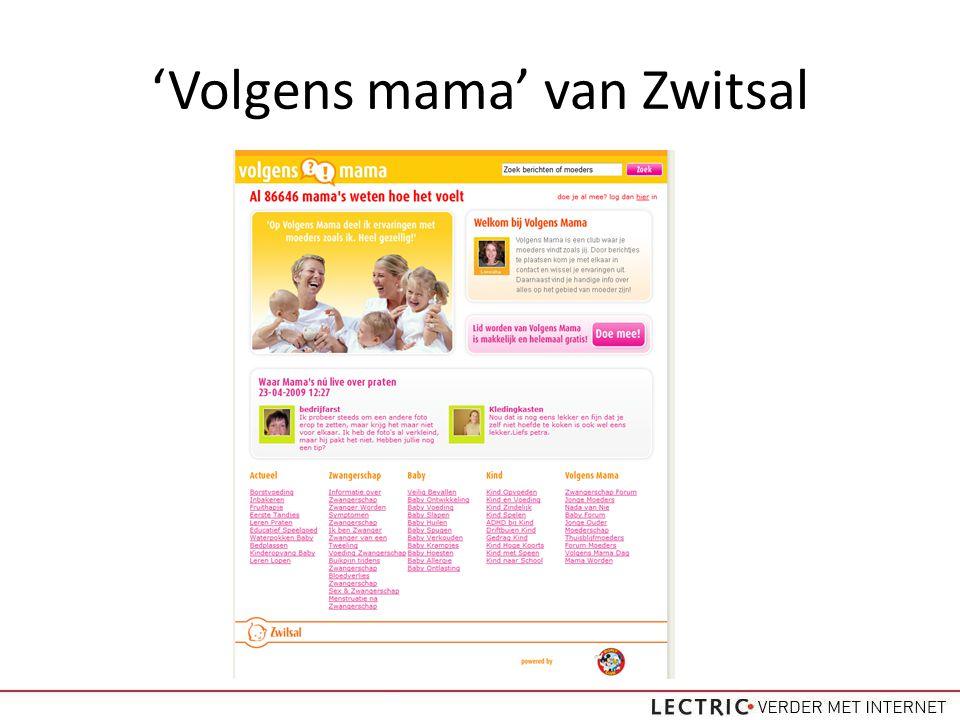 'Volgens mama' van Zwitsal