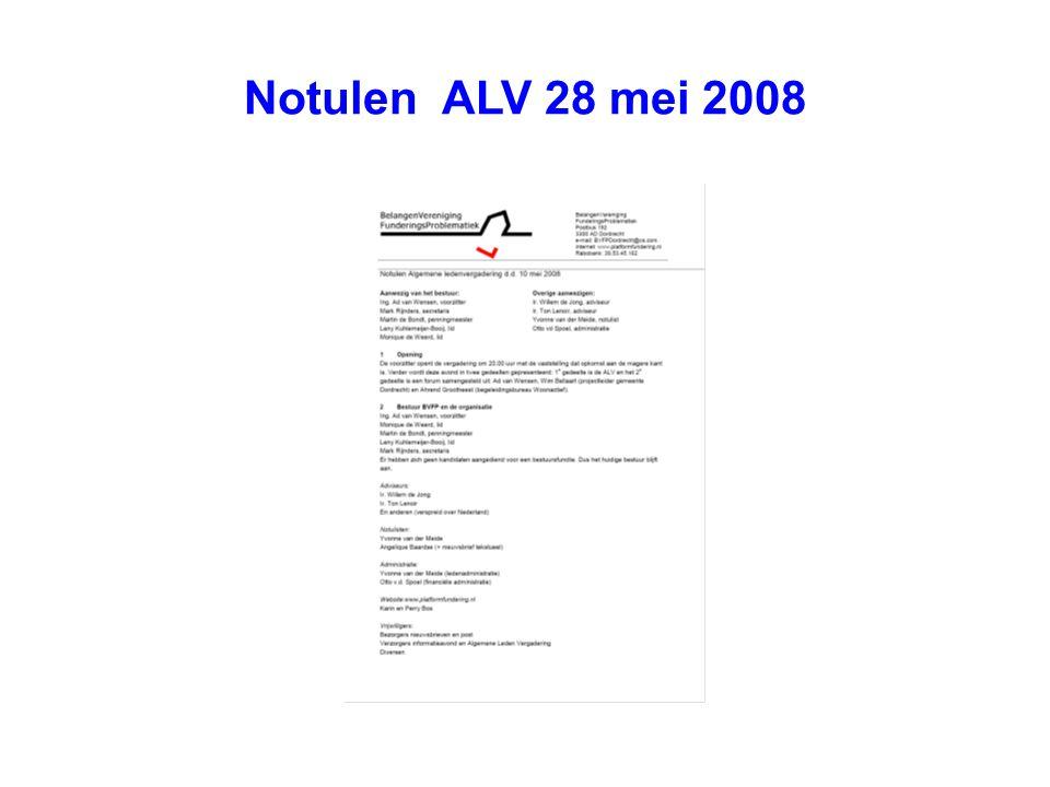 Notulen ALV 28 mei 2008