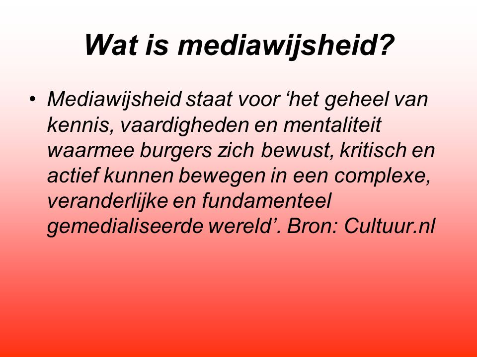 Wat is mediawijsheid echt.1.