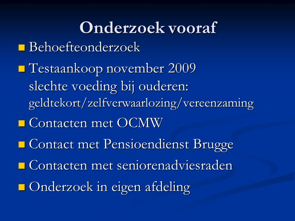 Huidige situatie 25% van de Vlaamse bevolking is 55-plussers 25% van de Vlaamse bevolking is 55-plussers In 2020 verwacht met dat 30% van de Vlamingen 55+ is In 2020 verwacht met dat 30% van de Vlamingen 55+ is wekelijks wordt gemeld in het nieuws Vlaanderen een probleem zal hebben om die vergrijzing lees: pensioenen te betalen wekelijks wordt gemeld in het nieuws Vlaanderen een probleem zal hebben om die vergrijzing lees: pensioenen te betalen Zelfs als de economie heropleeft!.