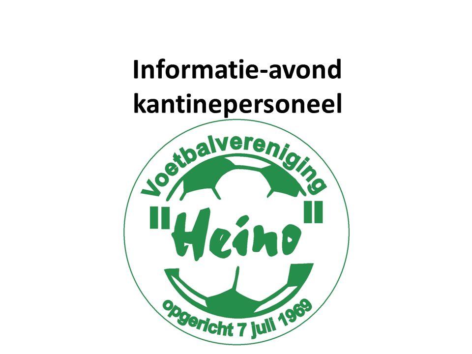 Welkom namens Kantinecommissie Koen Velner (voorzitter); Linda Bruggink Esther Vastenavond Elwin Slotman Thijs van der Beek Bernadet Krosman