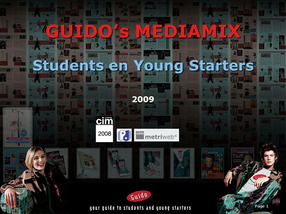 Page 2 Inhoud I.Jongeren, Studenten en Young Starters in België 1.1Doelgroep, who en where.