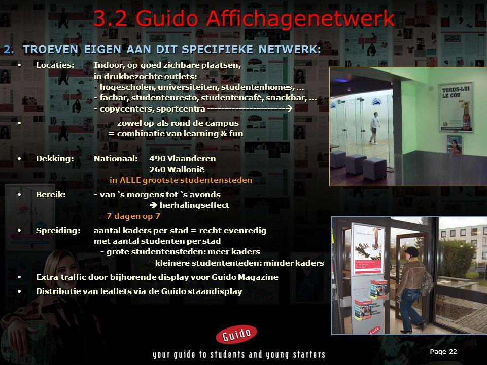 Page 22 3.2 Guido Affichagenetwerk 2.
