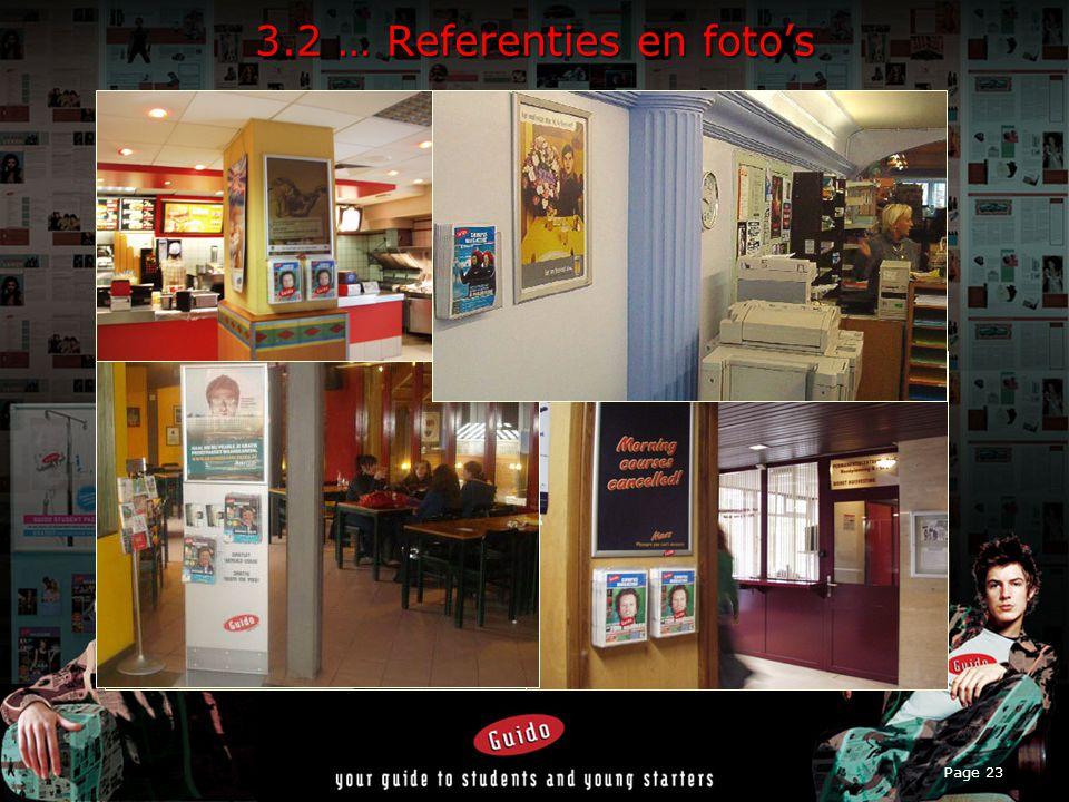 Page 23 3.2 … Referenties en foto's
