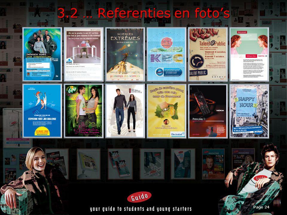 Page 24 3.2 … Referenties en foto's