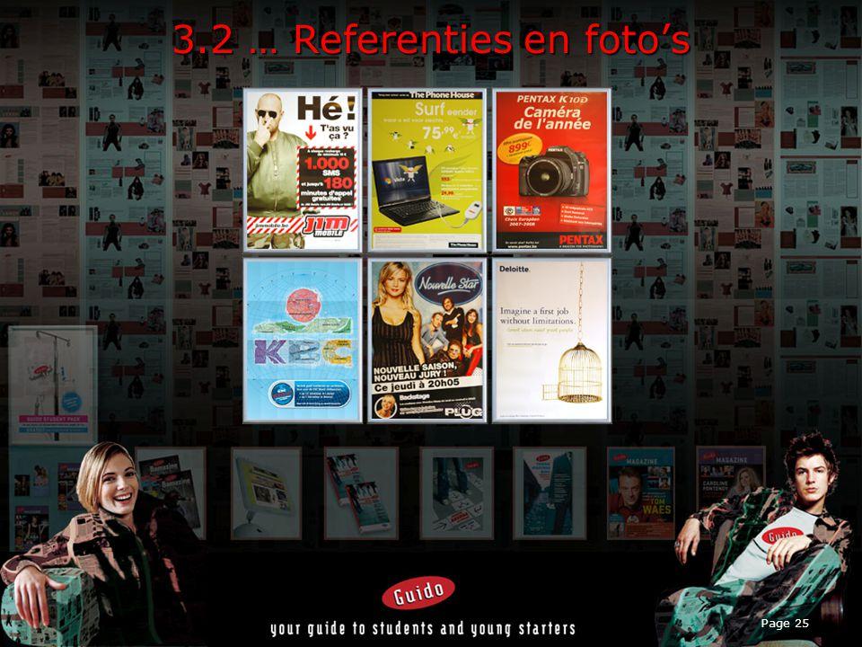 Page 25 3.2 … Referenties en foto's