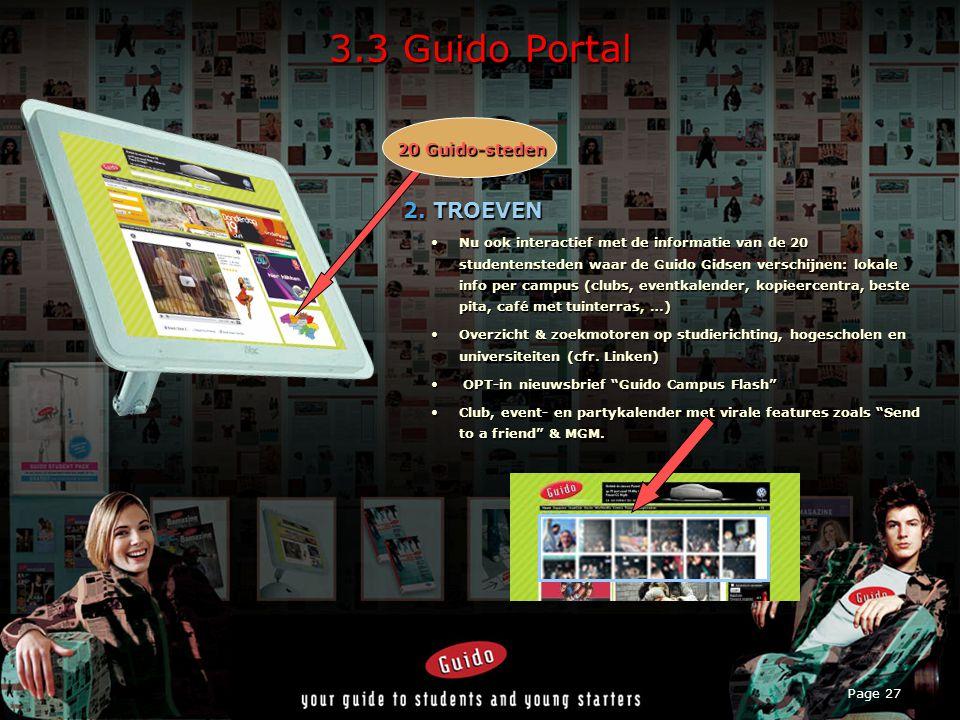 Page 27 3.3 Guido Portal 2.