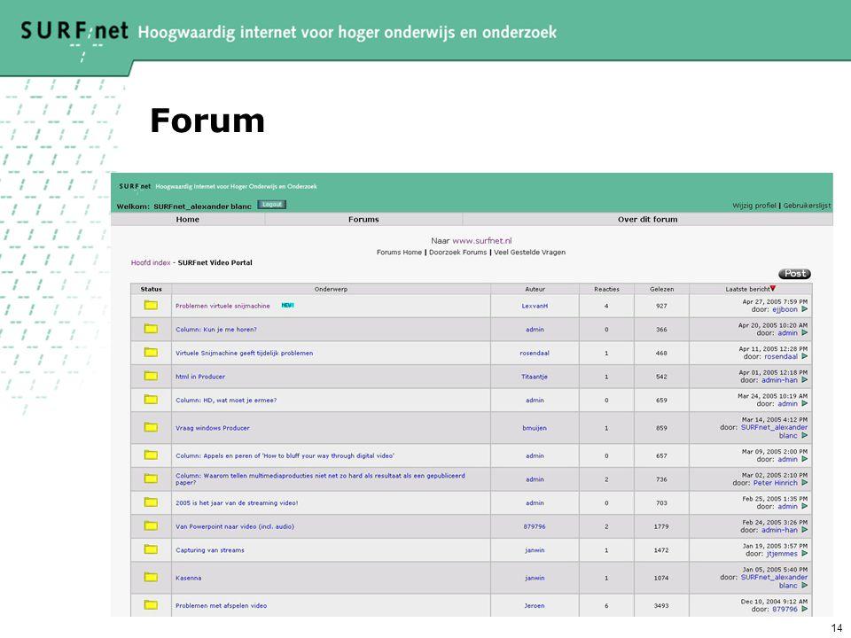 14 Forum