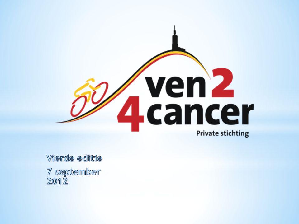 Welkom op de vierde editie van Ven2-4Cancer.