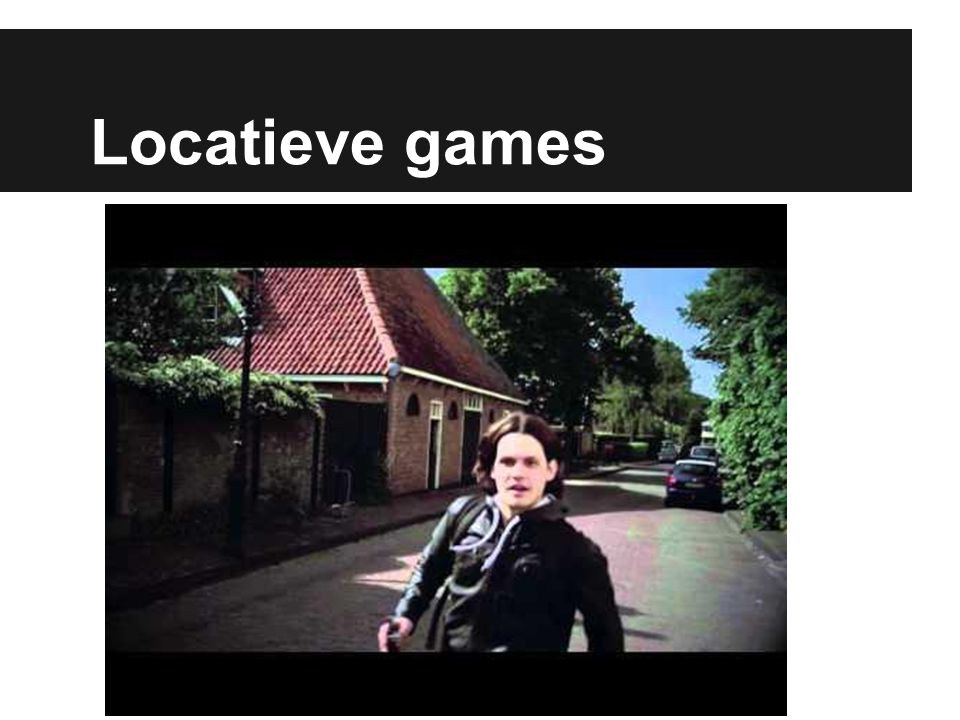 Locatieve games