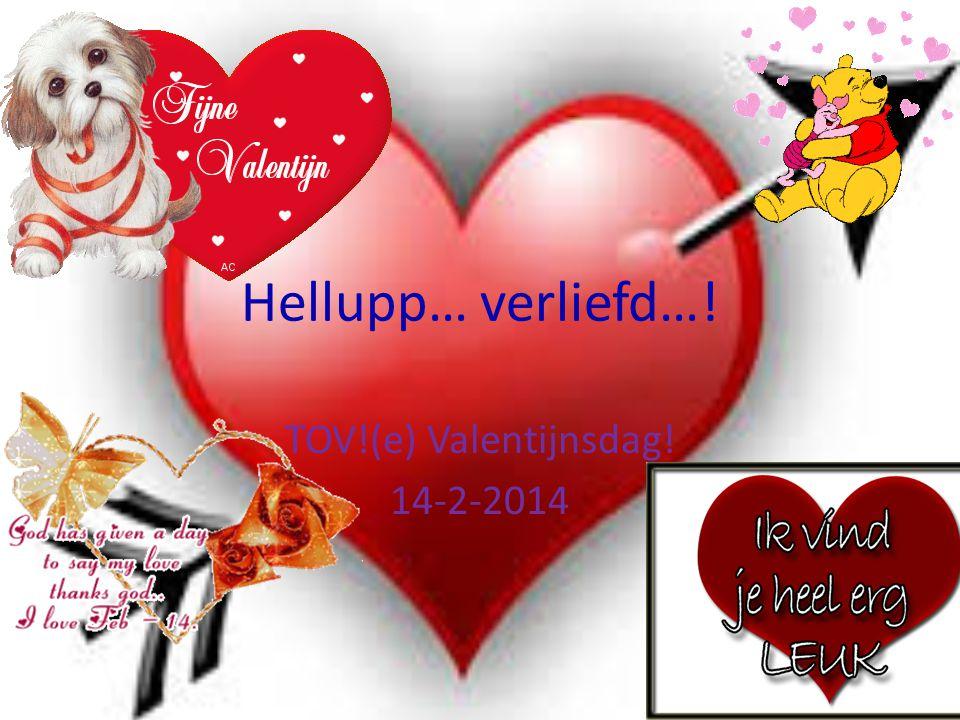 Hellupp… verliefd…! TOV!(e) Valentijnsdag! 14-2-2014