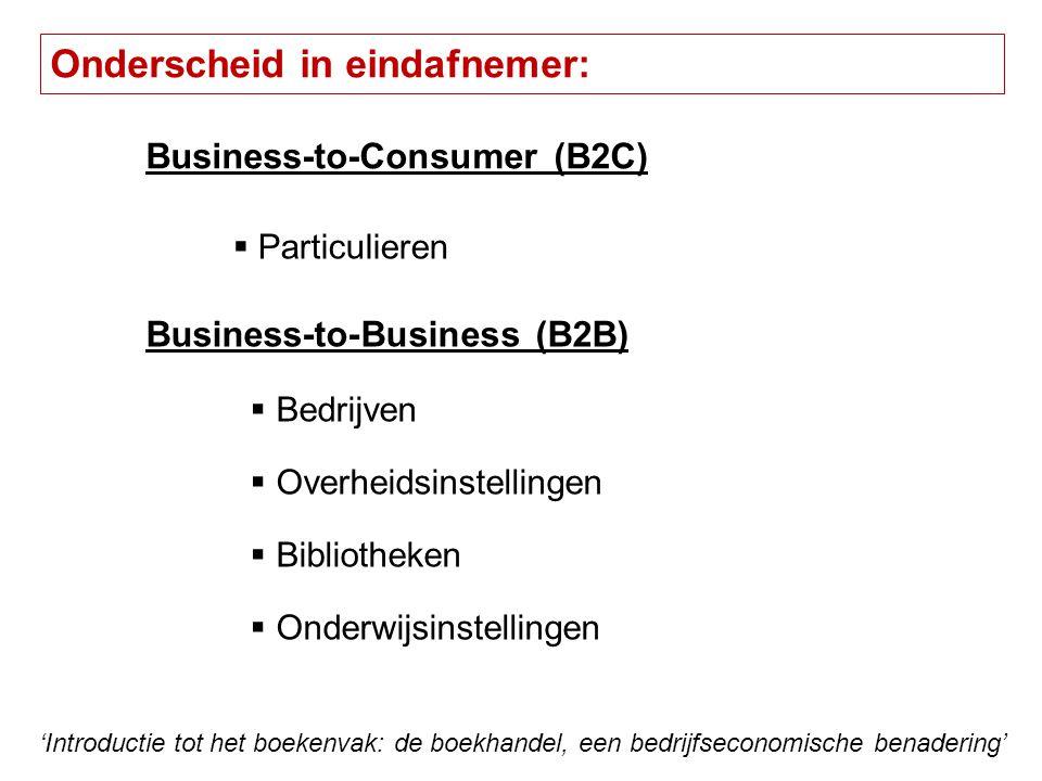 Bruto Marge - Kosten = Netto resultaat Personeelskost Hoog in de boekhandel Verzekeringen Huur en onderhoudABC – locatiebeleid.