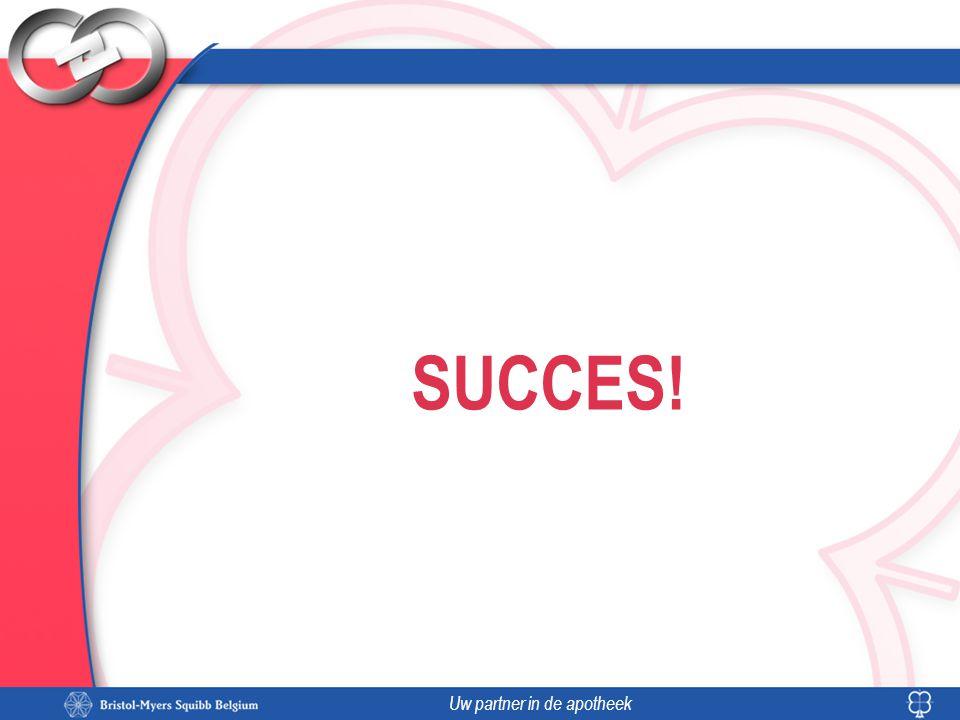Uw partner in de apotheek SUCCES!