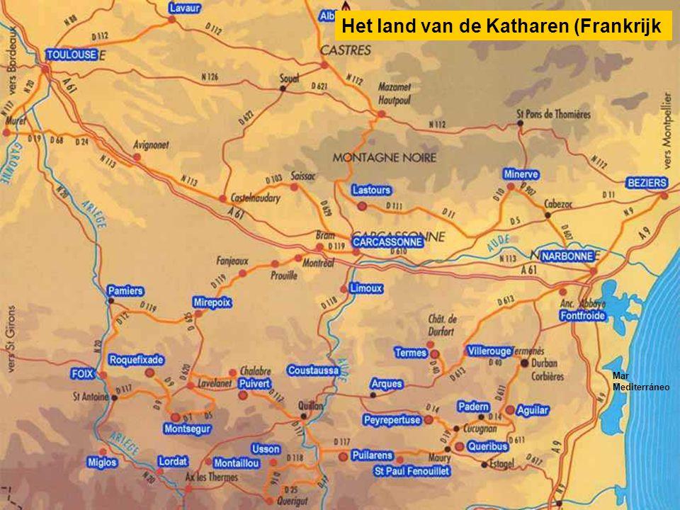 Het land van de Katharen (Frankrijk Mar Mediterráneo