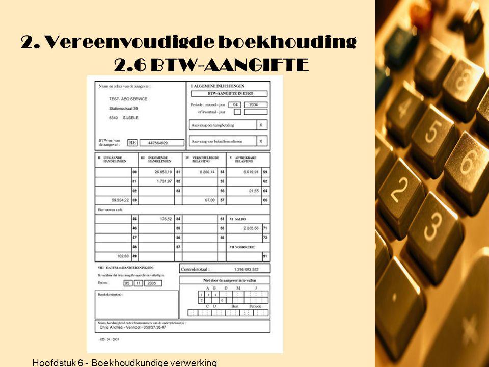 Hoofdstuk 6 - Boekhoudkundige verwerking 2. Vereenvoudigde boekhouding 2.5 RESULTAATBEREKENING 4.Oefeningen •Oefening p. 249 (vervolg) Bedrijfskosten