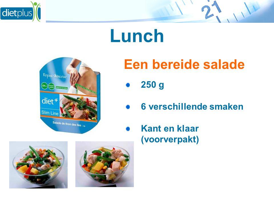 Lunch Een bereide salade 250 g 6 verschillende smaken Kant en klaar (voorverpakt)