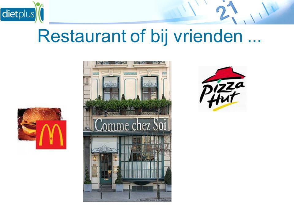 Restaurant of bij vrienden...