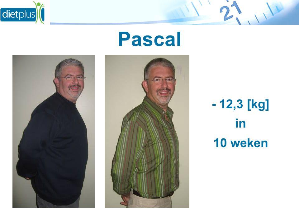 Pascal - 12,3 [kg] in 10 weken