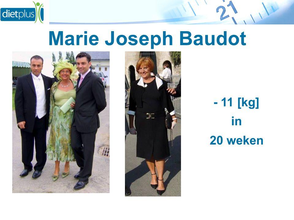 Marie Joseph Baudot - 11 [kg] in 20 weken