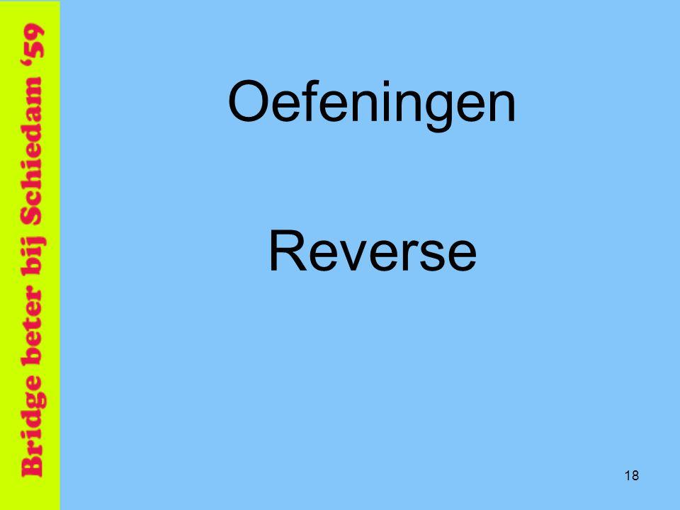 18 Oefeningen Reverse