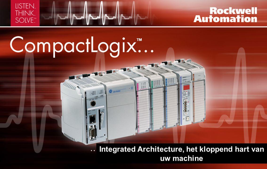 • 512K tot 2M geheugen • Door controllers in EtherNet/IP TM ControlNet TM -, DeviceNet TM - en andere netwerken te verbinden wordt gedistribueerde verwerking mogelijk • Eenvoudige bekabeling, installatie of vervanging van verwijderbare, aanraakveilige aansluitklemmen in Compact I/O-modules