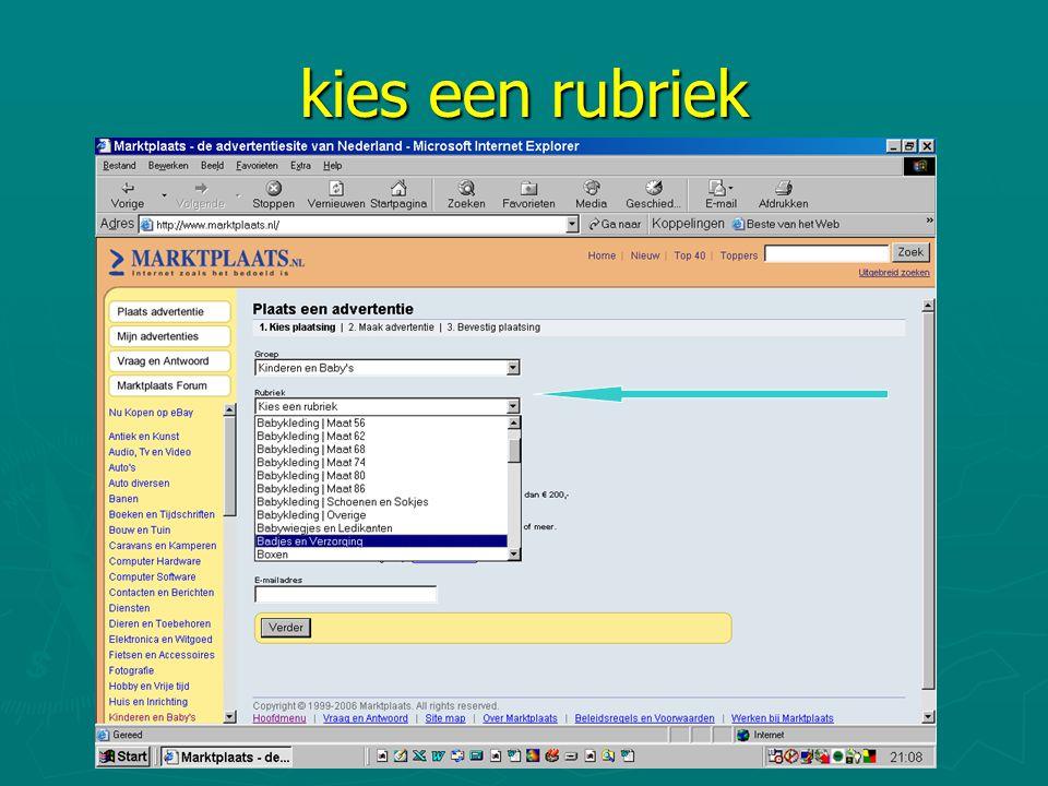 2e Antwoord van Mpl ► Geachte klimop, Bedankt voor het plaatsen van uw advertentie op Marktplaats.nl.
