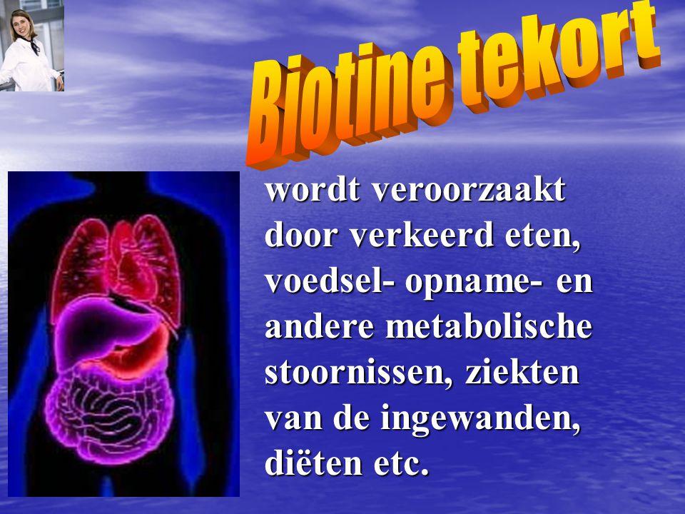 wordt veroorzaakt door verkeerd eten, voedsel- opname- en andere metabolische stoornissen, ziekten van de ingewanden, diëten etc.
