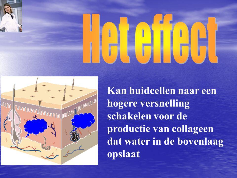 Kan huidcellen naar een hogere versnelling schakelen voor de productie van collageen dat water in de bovenlaag opslaat