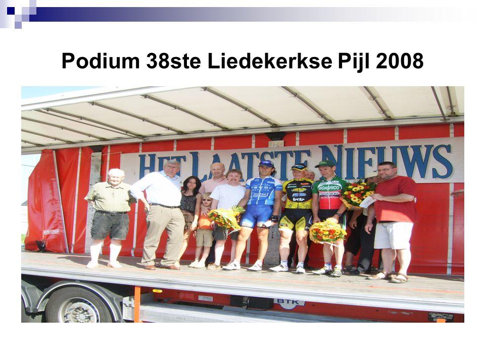 Podium 38ste Liedekerkse Pijl 2008