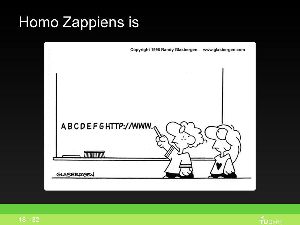 Homo Zappiens is School is een ontmoetingsplaats voor vrienden geen plek om te leren 17 - 32