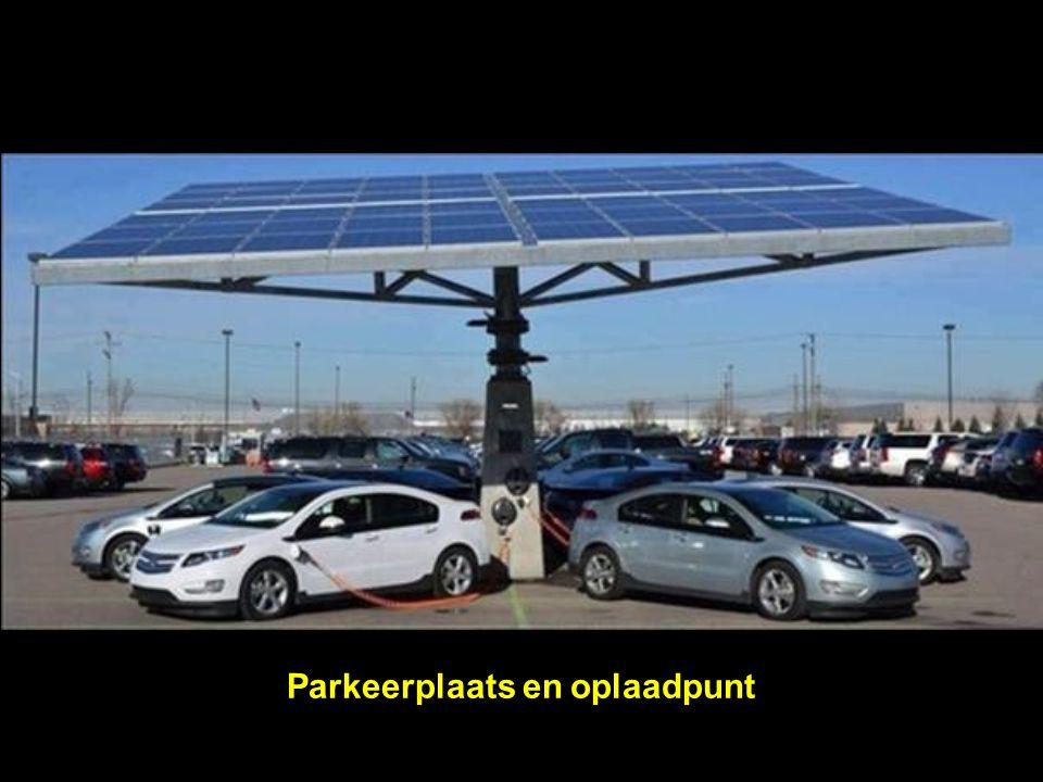 Parkeerplaats en oplaadpunt
