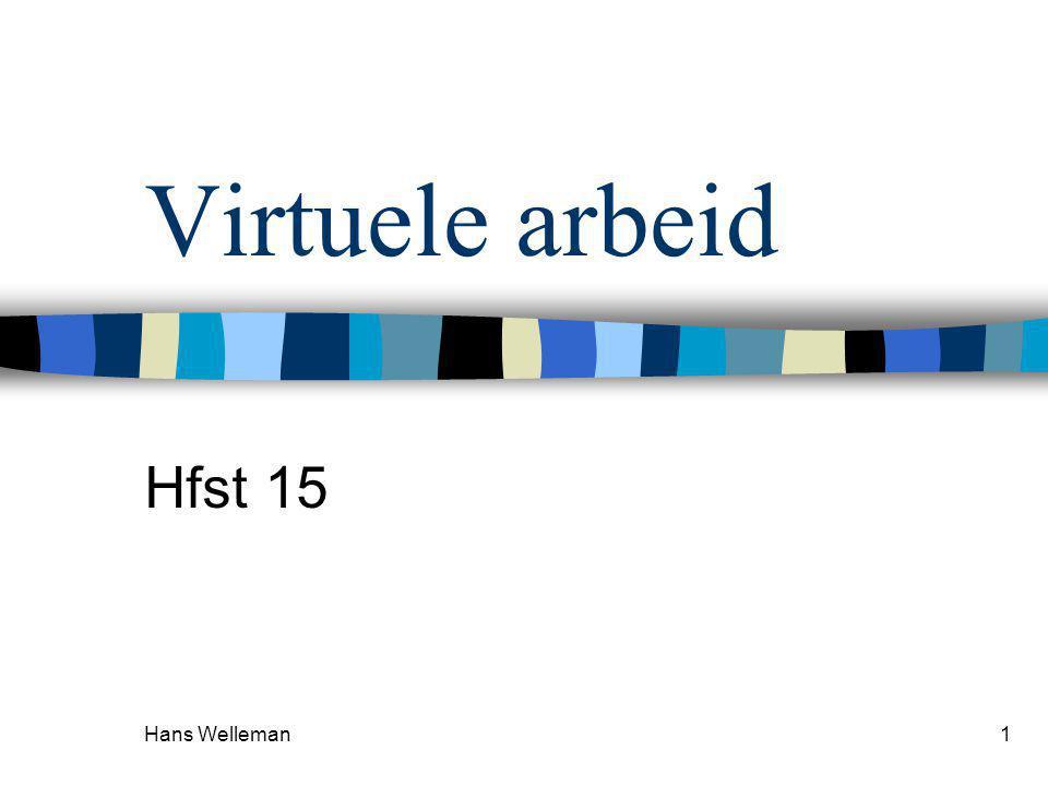 Hans Welleman 12 MECHANISMEN  Kinematisch onbepaald  Welke mogelijkheden .