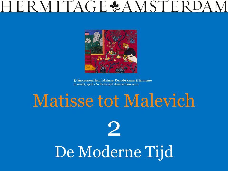 De Moderne Tijd Matisse tot Malevich 2 © Succession Henri Matisse, De rode kamer (Harmonie in rood), 1908 c/o Pictoright Amsterdam 2010