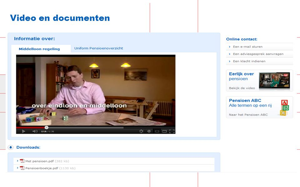 33 Video en documenten