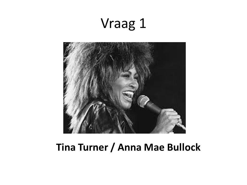 Vraag 1 Tina Turner / Anna Mae Bullock