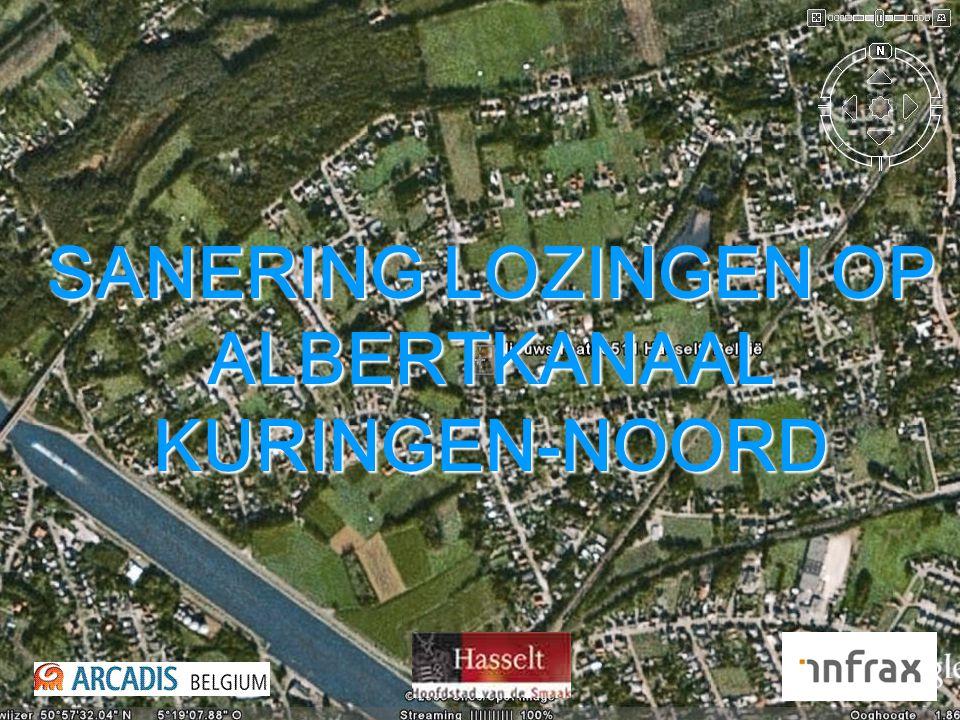 SANERING LOZINGEN OP ALBERTKANAAL KURINGEN-NOORD