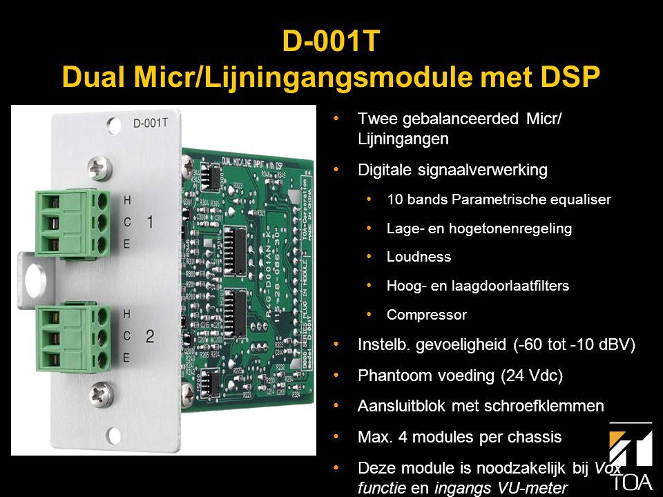D-001T - Blokschema